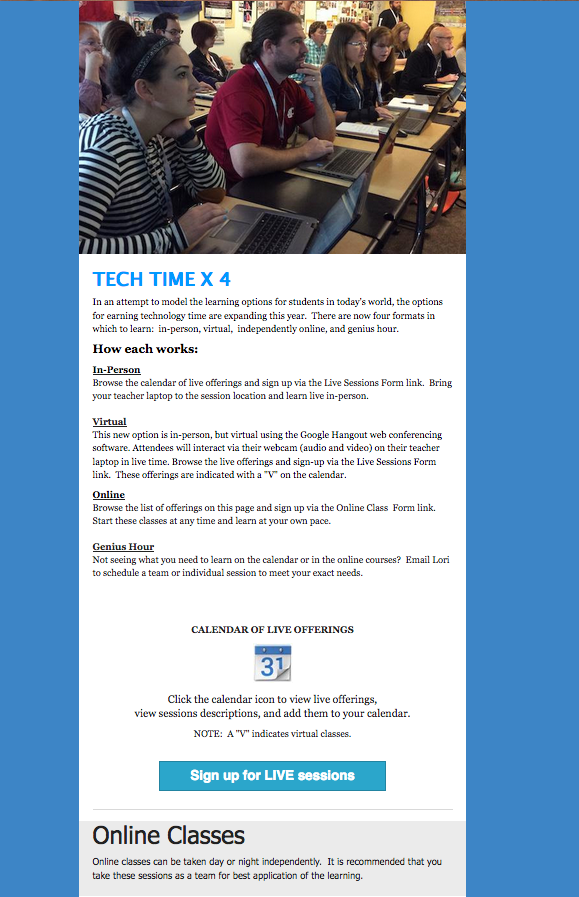 Tech Time newsletter picture