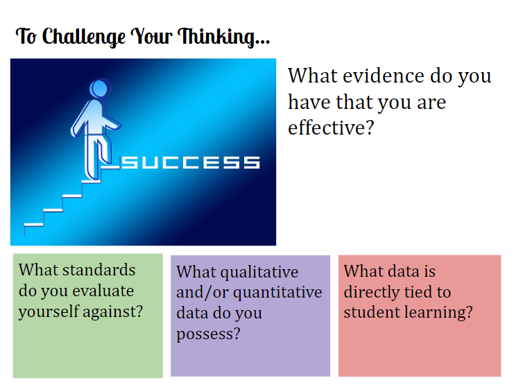 NCCE presentation slide to challenge thinking